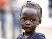 A Congolese refugee child displaced by fighting between the Congo army and rebel group Allied Democratic Forces. (Photo: Reuters/ James Akena).