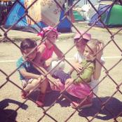 Greek child refugees