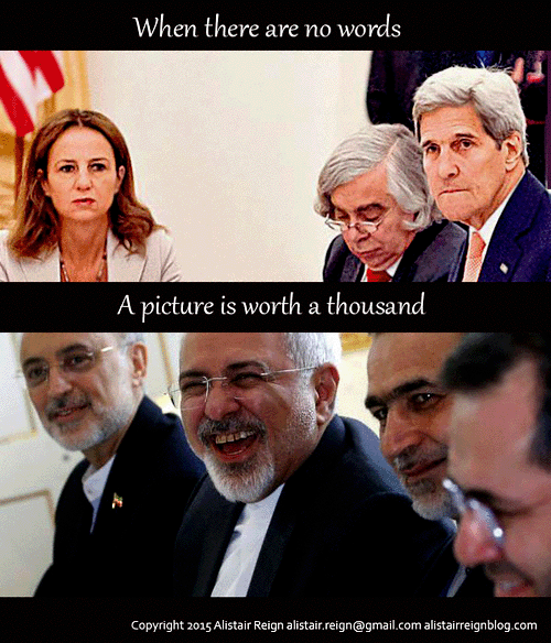 The Iran deal in pictures.