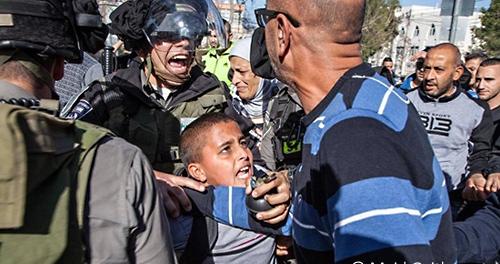 Israel Army Arrest Kids