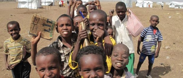Kenya Children learn to be children again