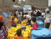 (WHO) has been delivering water in yemen