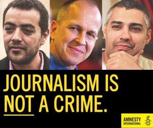 ALJ journalist jailed.
