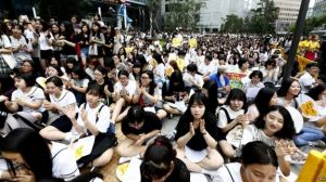 Anti-Japanese sentiment in South Korea has manifested itself in recent protests