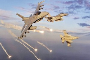 Turkish jets launched their heaviest assault