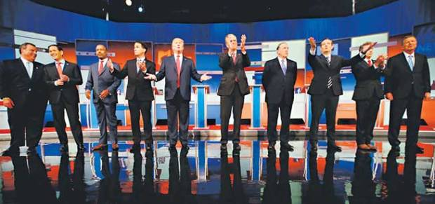 GOP Republican lineup