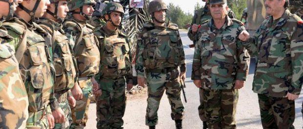 Syrian Defense Minister Fahd Jassem