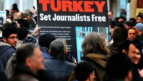 Journalists' arrests in Turkey