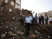 Saudi-led friendly fire in Yemen kills 20 people.