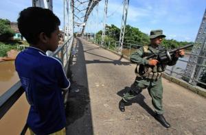 Venezuelan troops