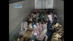Bodies of people killed by Syrian security