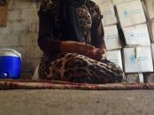 A 15-year-old Yazidi