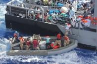 Distressed refugees recused