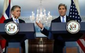 John Kerry Meets With UK Foreign Secretary Philip Hammond At State Dept
