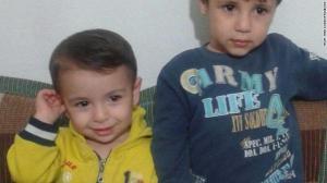 Brothers Aylan and Ghalib Kurdi