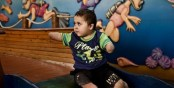 More than 1,000 Palestinian children in the Gaza Strip sustained permanent disabilities during last year's 51-day Israeli military onslaught, according to Defense for Children International (DCI), an NGO devoted to children's rights.