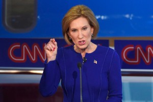 Carly Fiorina at the GOP Debate, October 28, 2015