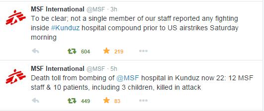 msf twit update