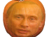 Putin Pumpkin Head