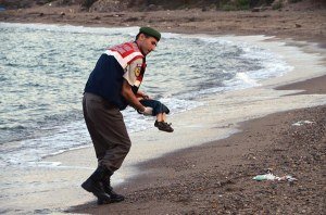 The plight of an increasing flow of refugees, captured in a heart wrenching photo of the body of a small boy washed up on a beach in Greece, sparked intense debate within Europe and the United States.
