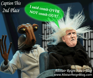 Trumps day at the space salon.