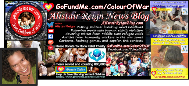 Alistair Reign News Blog on Facebook.