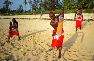 The Beach: The players are aiming to be role models in their communities where they are actively campaigning against Female Genital Mutilation, early childhood marriages and are fighting for the rights of women