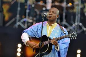 Sekouba 'Bambino' is the stage name of Sekouba Diabaté, 51