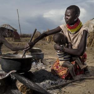 HRW Photo. Climate change and Ethiopia have the people of Turkana in a devastating pincer grip