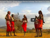 maaasala cricket females cover video - Francis Ole Meshame has swapped his spear for a bat. He told the BBC that cricket would be a good game for Maasai warriors, because bowling was very similar to throwing spears.