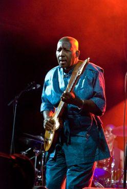 Sekouba Bambino is a superstar in West Africa. ( Carlos Fernández San Millán)