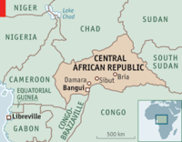 central African Republic. (Photo: Wikipedia).