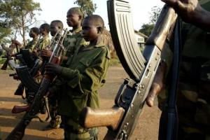 Human rights group Amnesty International has documented the use or alleged use of child soldiers in 19 countries, including Chad, the Democratic Republic of Congo, the Ivory Coast, Mali, Somalia, Sri Lanka and Yemen. PHOTO: REUTERS