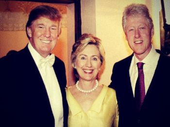 Image result for TRUMP CLINTON BEST FRIENDS