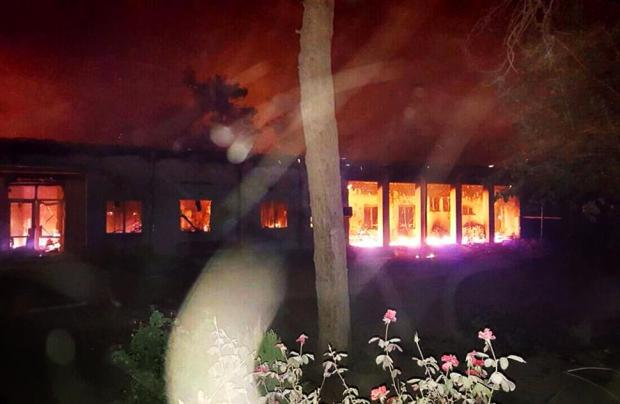 Doctors Without Borders withdraws from Kunduz post after airstrike that killed 22, left patients burning in beds (Photo: MSF)