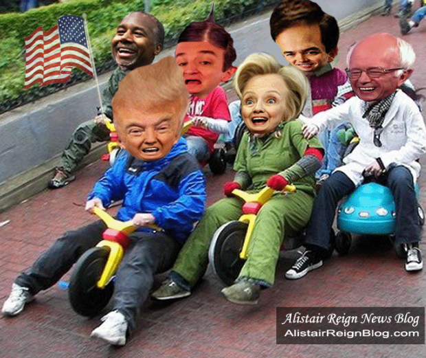 Donald Trump Still Leading The Race To The Whitehouse. AlistairReignBlog.com