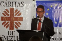Vicente Raimundo, head office for South America DG ECHO - European Commission. AlistairReignBlog.com
