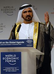 Sheikh Mohammed in 2008. (Photo: Wikipedia) (Alistair Reign News Blog: www.AlistairReignBlog.com).