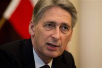 British Foreign Secretary, Philip Hammond