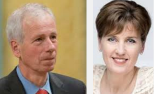 Foreign Affairs Minister Stéphane Dion and Minister of International Development and La Francophonie Marie Claude Bibeau.