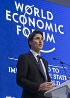 Switzerland - PM Justin Trudeau at the annual meeting of the World Economic Forum. AlistairReignBlog.com