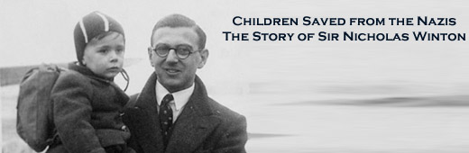 Sir Nicholas Winton, the man who saved hundreds of children from the Nazis. www.AlistairReignBlog.com