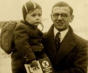Undated family handout picture of Nicholas Winton with one of the children he rescued: Nicholas Winton who saved the lives of hundreds of Jewish children during the Second World War was today receiving a letter of thanks from the Prime Minister. Mr Winton saved 669 Czechoslovakian boys and girls destined for Nazi concentration camps by smuggling them into safe homes in Britain.
