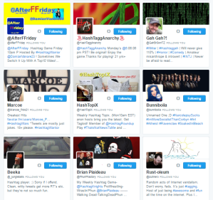 People followed by ⛽ ️Hashtag Sally ♫ hashtag_sally Twitter.png13