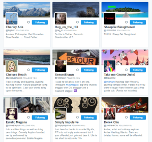 People followed by ⛽ ️Hashtag Sally ♫ hashtag_sally Twitter.png27