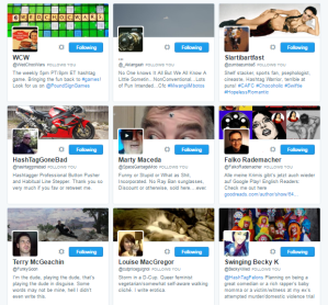 People followed by ⛽ ️Hashtag Sally ♫ hashtag_sally Twitter.png29