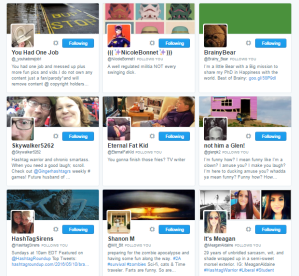 People followed by ⛽ ️Hashtag Sally ♫ hashtag_sally Twitter.png42