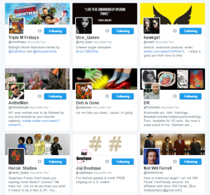 People followed by ⛽ ️Hashtag Sally ♫ hashtag_sally Twitter.png45