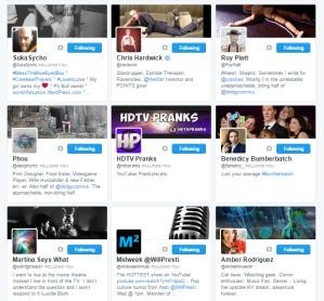 People followed by ⛽ ️Hashtag Sally ♫ hashtag_sally Twitter.png46