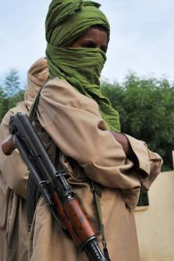 A young fighter from the Islamist group Movement for Oneness and Jihad in West Africa, Gao, Mali, July 17, 2012. (Photo: Issouf Sanago/AFP/Getty).